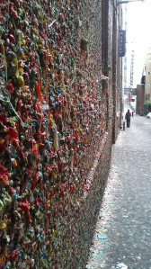 If you happen to be in the market for some gum, the Gum Wall provides an excellent 'try before you buy' option.  And yes, you can click for a close-up.