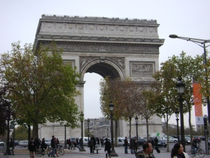 """Another well-known Paris landmark is the Arc de Triomphe, a moving monument to the many brave women and men who have died trying to visit it."" – Dave Barry"