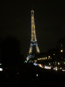 At night the sparkling Eiffel Tower makes Edward Cullen look like the commissioner of Lame County.