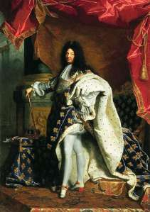 Louis XIV was the original fashionista.  If my memory serves me correctly, he starred in the 1984 film, Purple Rain.